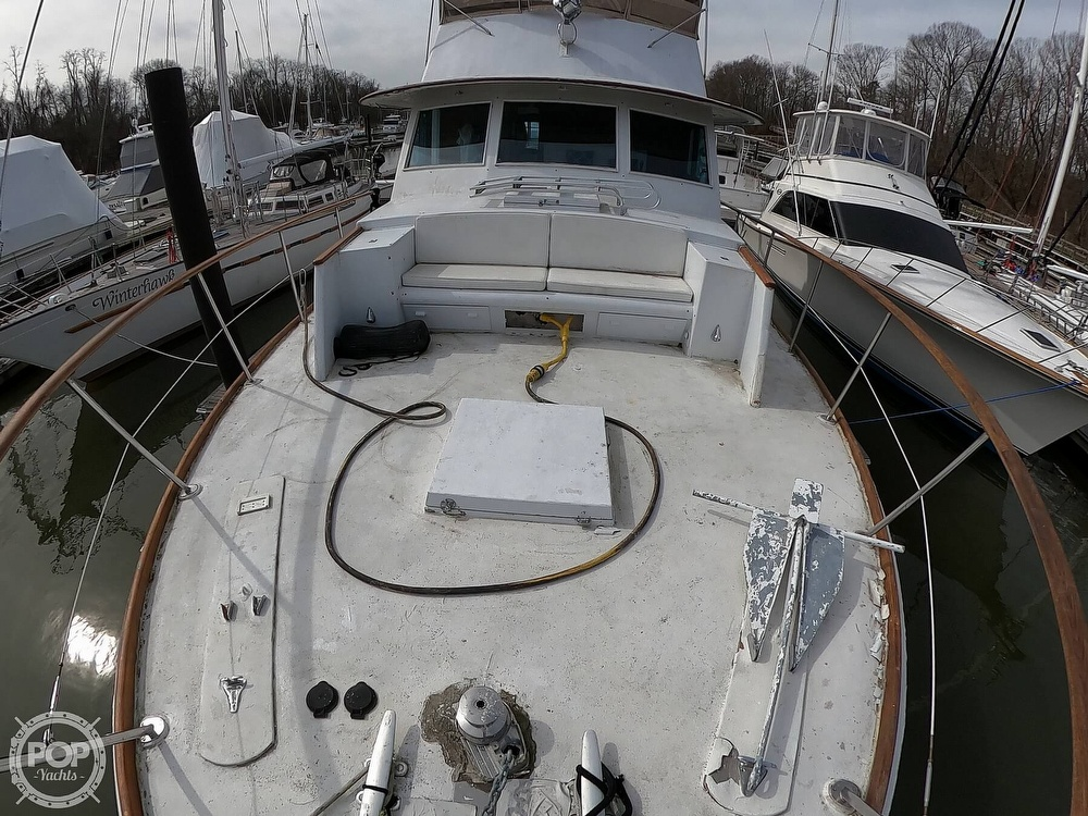 1972 Bertram boat for sale, model of the boat is 63 Motoryacht & Image # 37 of 40