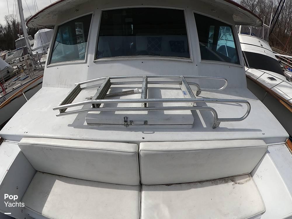 1972 Bertram boat for sale, model of the boat is 63 Motoryacht & Image # 39 of 40