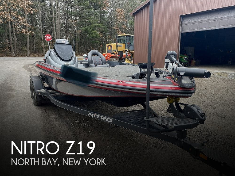 2017 Nitro boat for sale, model of the boat is Z19 & Image # 1 of 40