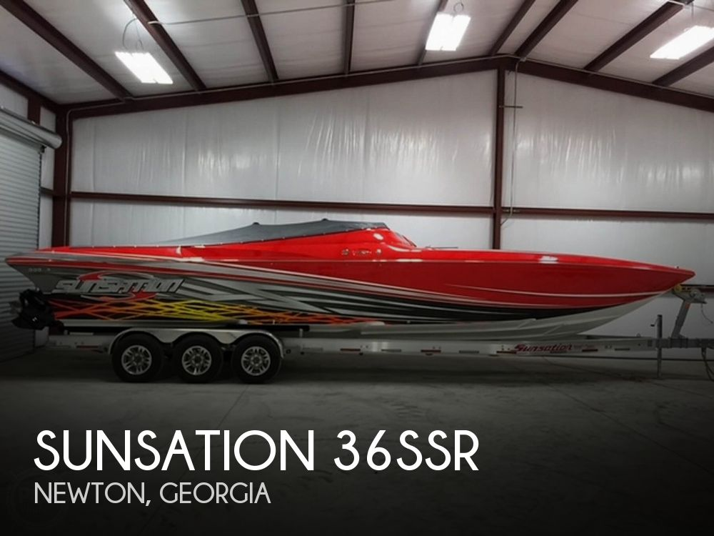 Used Boats For Sale in Georgia by owner | 2014 Sunsation 36SSR