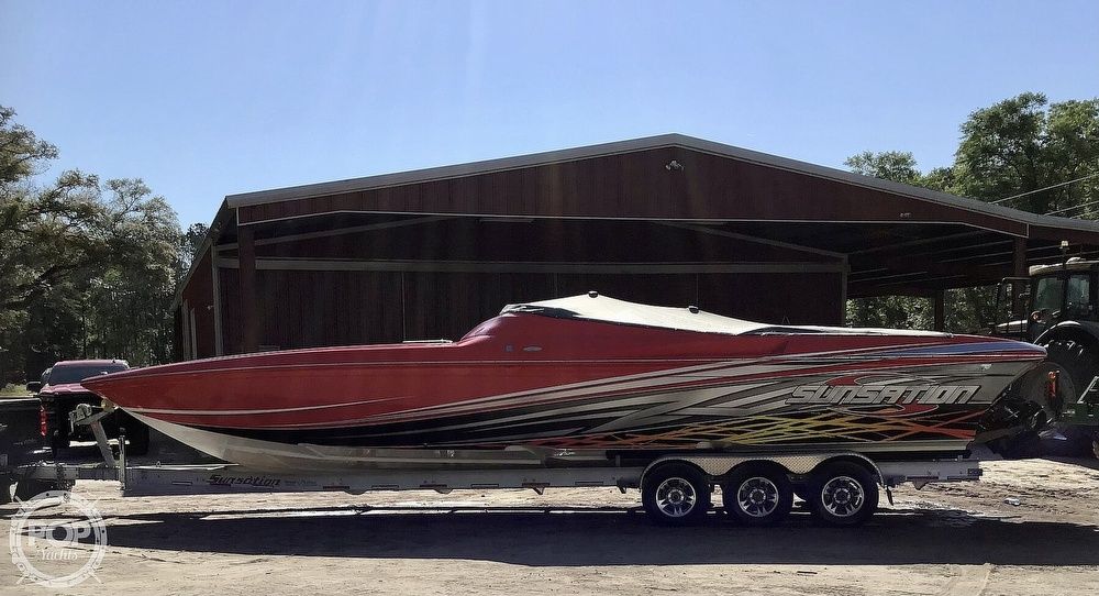 2014 Sunsation boat for sale, model of the boat is 36 SSR & Image # 14 of 40