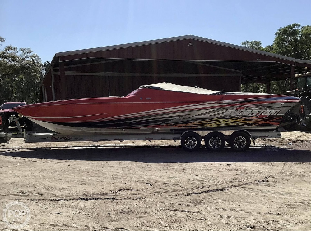 2014 Sunsation boat for sale, model of the boat is 36 SSR & Image # 15 of 40