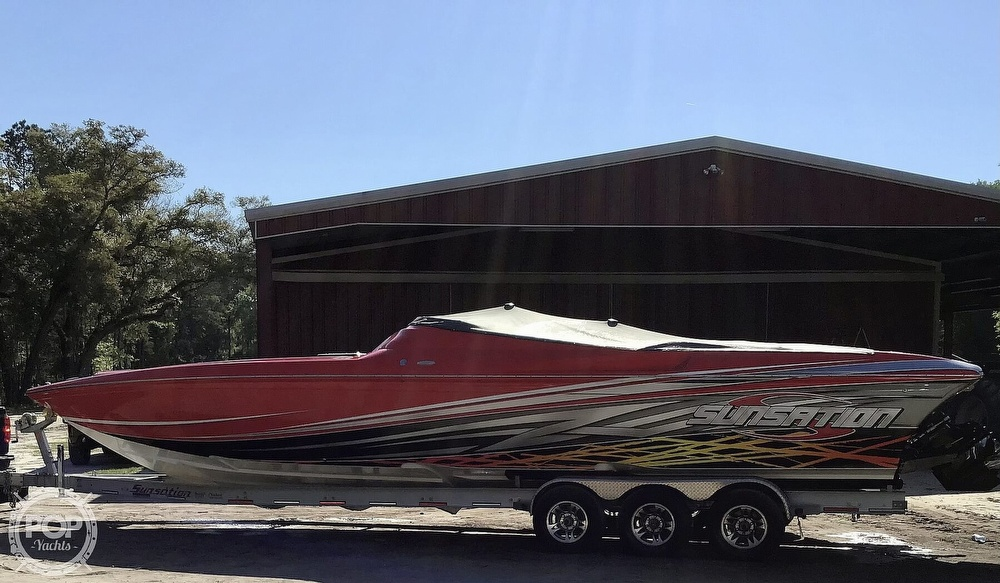 2014 Sunsation boat for sale, model of the boat is 36 SSR & Image # 2 of 40