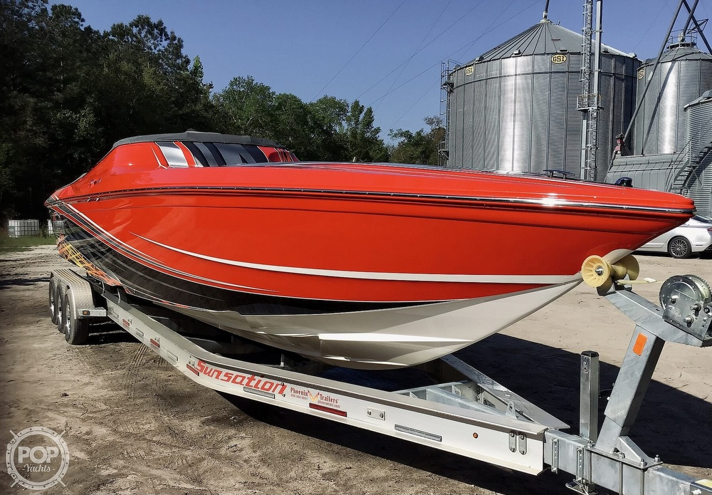 2014 Sunsation boat for sale, model of the boat is 36 SSR & Image # 17 of 40