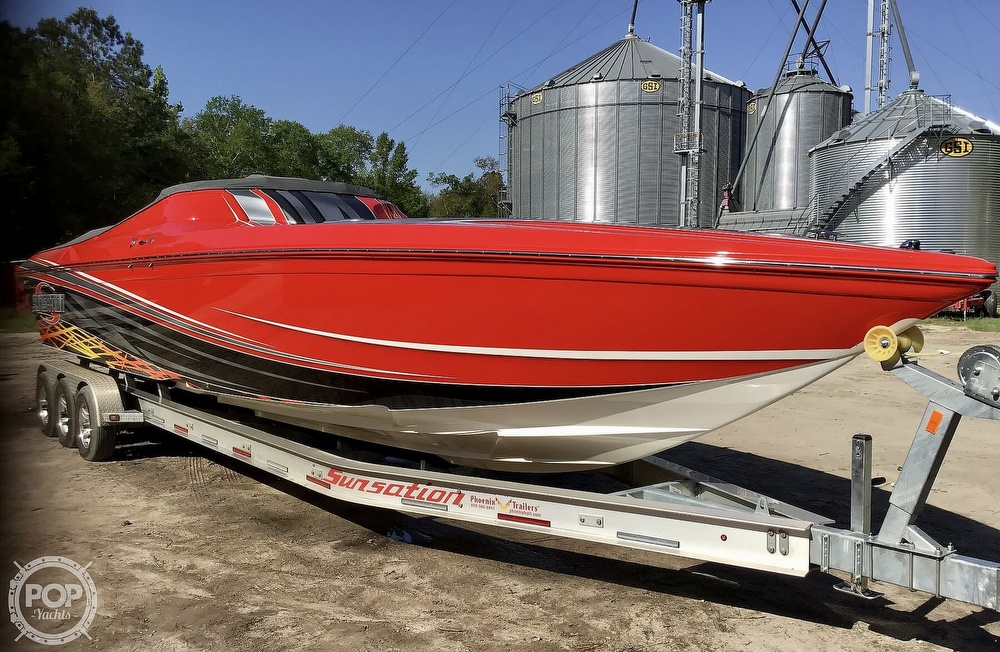 2014 Sunsation boat for sale, model of the boat is 36 SSR & Image # 18 of 40