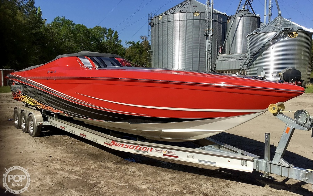 2014 Sunsation boat for sale, model of the boat is 36 SSR & Image # 5 of 40