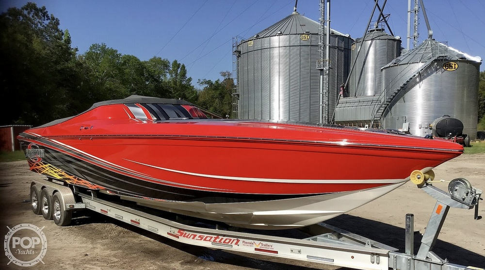 2014 Sunsation boat for sale, model of the boat is 36 SSR & Image # 19 of 40