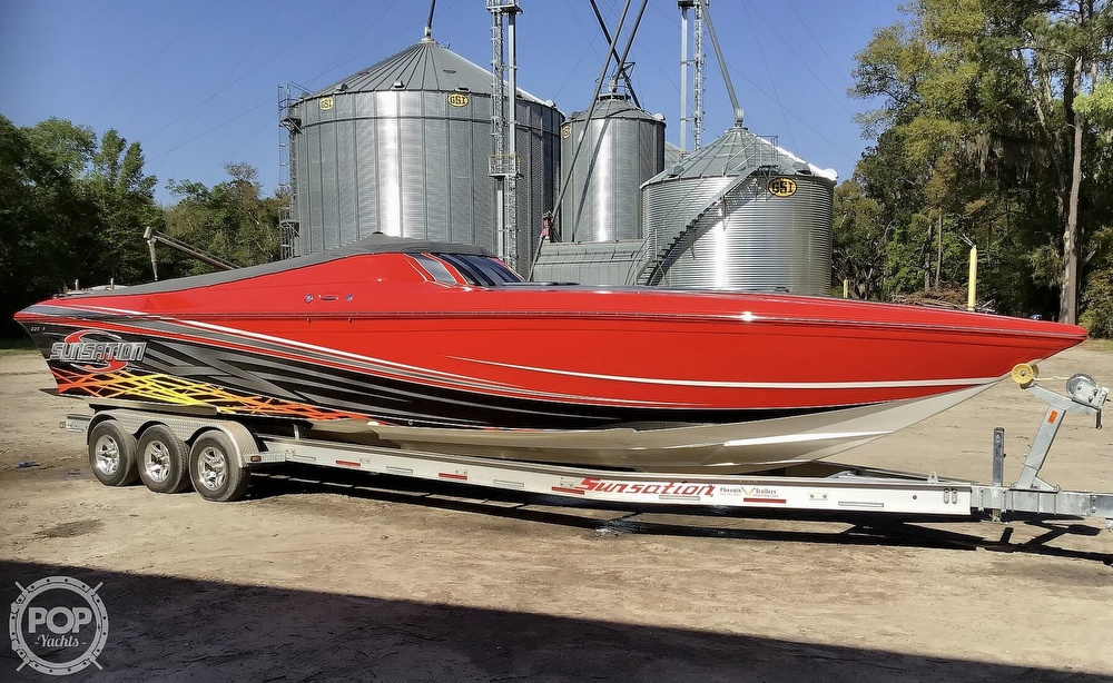 2014 Sunsation boat for sale, model of the boat is 36 SSR & Image # 3 of 40