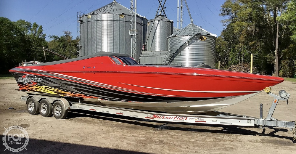 2014 Sunsation boat for sale, model of the boat is 36 SSR & Image # 21 of 40