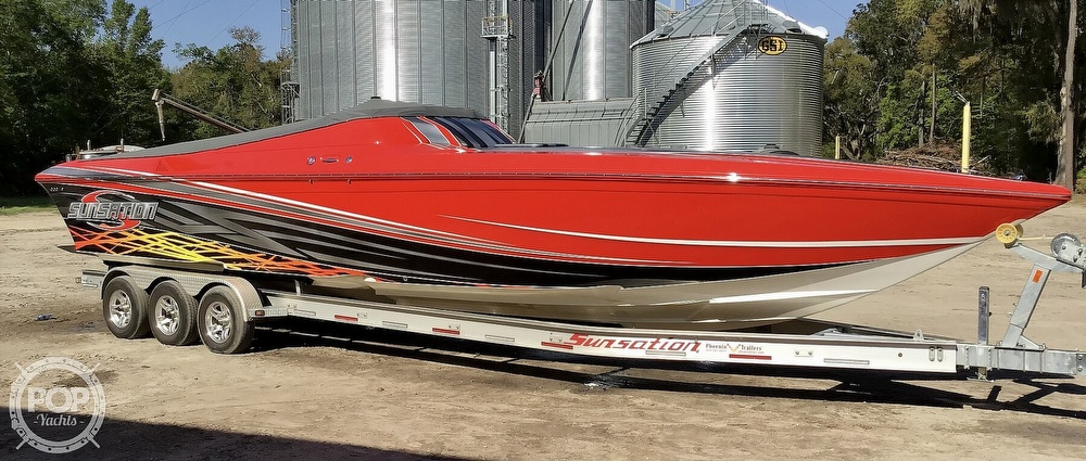 2014 Sunsation boat for sale, model of the boat is 36 SSR & Image # 22 of 40