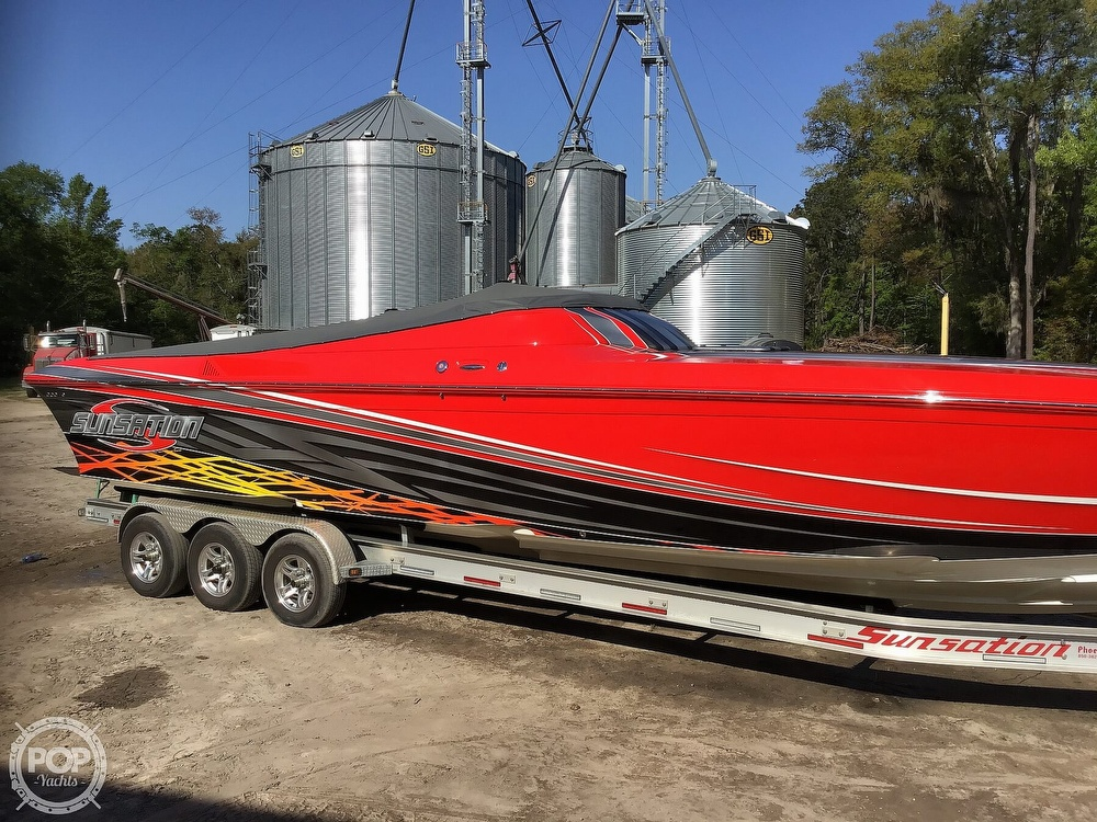2014 Sunsation boat for sale, model of the boat is 36 SSR & Image # 23 of 40