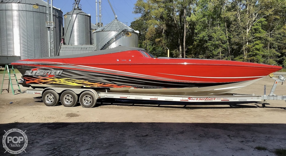2014 Sunsation boat for sale, model of the boat is 36 SSR & Image # 25 of 40