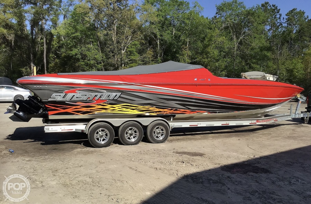 2014 Sunsation boat for sale, model of the boat is 36 SSR & Image # 26 of 40