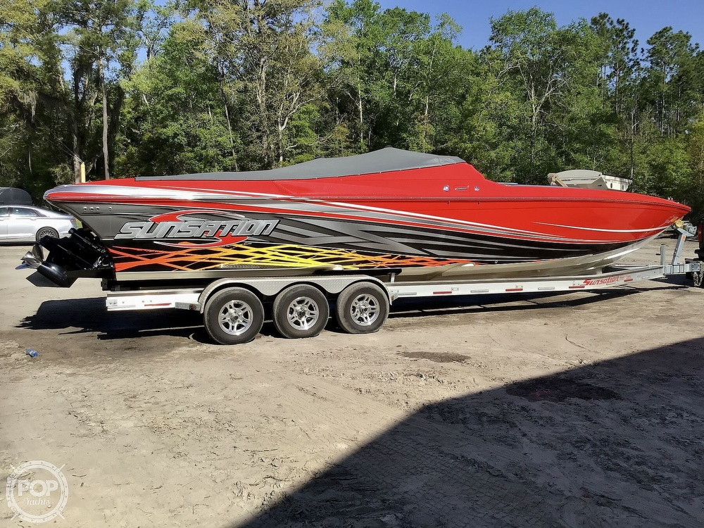 2014 Sunsation boat for sale, model of the boat is 36 SSR & Image # 27 of 40