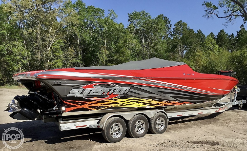 2014 Sunsation boat for sale, model of the boat is 36 SSR & Image # 28 of 40