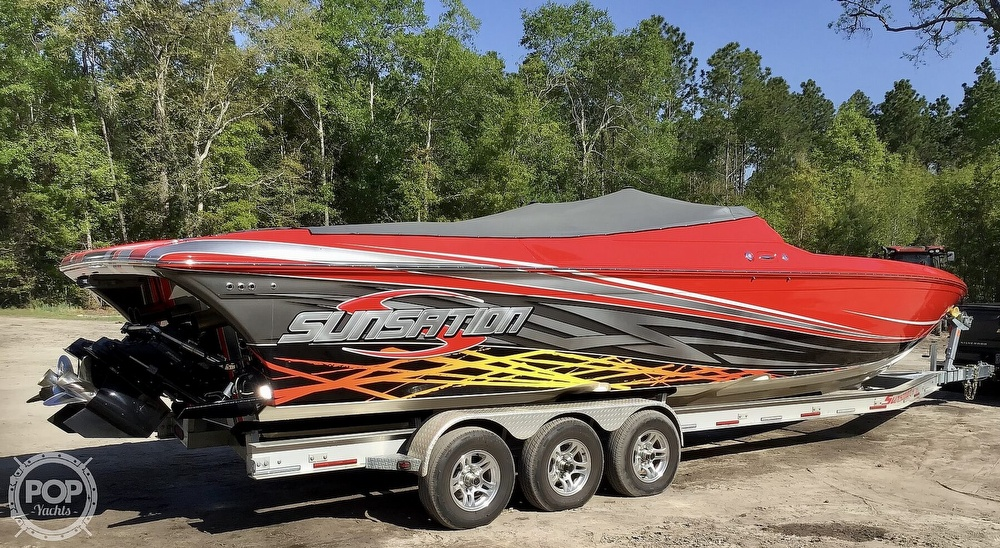 2014 Sunsation boat for sale, model of the boat is 36 SSR & Image # 29 of 40