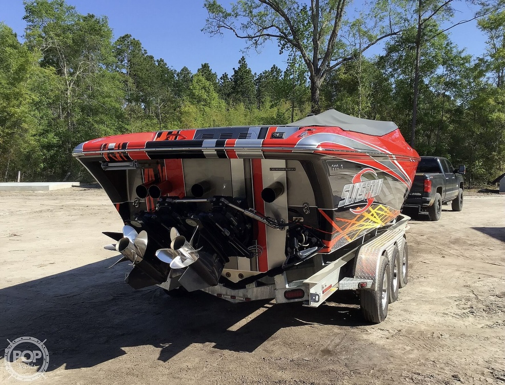 2014 Sunsation boat for sale, model of the boat is 36 SSR & Image # 30 of 40
