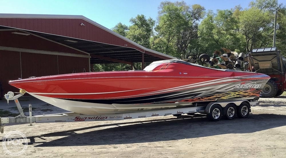 2014 Sunsation boat for sale, model of the boat is 36 SSR & Image # 7 of 40