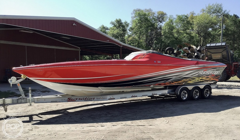2014 Sunsation boat for sale, model of the boat is 36 SSR & Image # 35 of 40