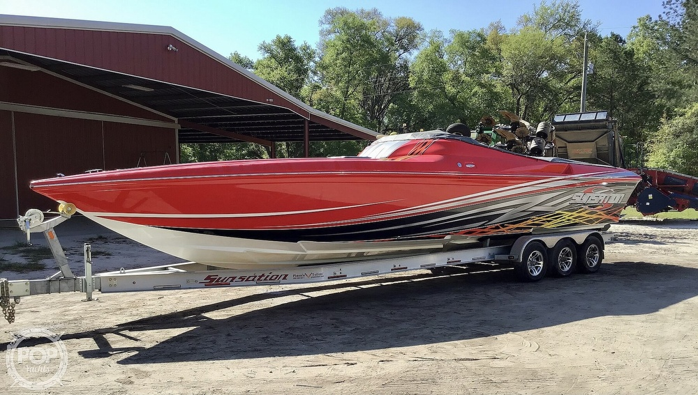 2014 Sunsation boat for sale, model of the boat is 36 SSR & Image # 36 of 40