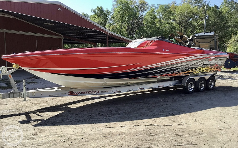 2014 Sunsation boat for sale, model of the boat is 36 SSR & Image # 37 of 40