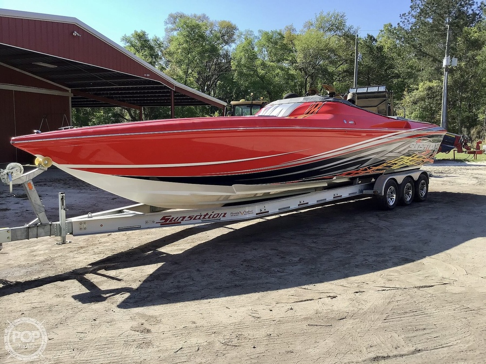 2014 Sunsation boat for sale, model of the boat is 36 SSR & Image # 6 of 40