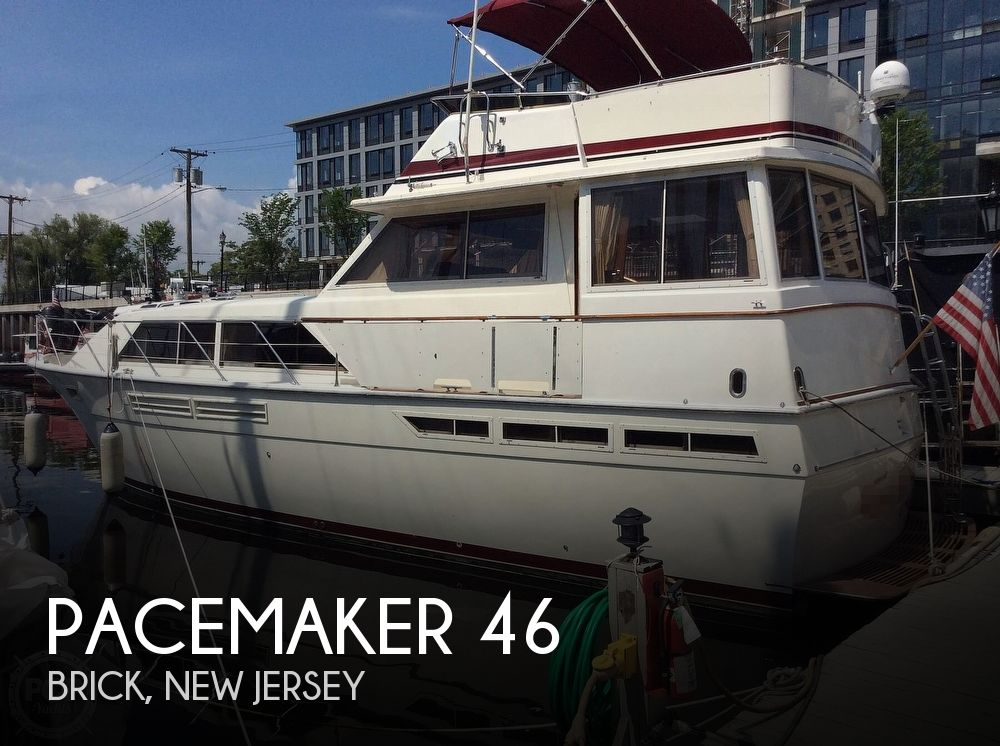 1978 Pacemaker boat for sale, model of the boat is 46 Motoryacht & Image # 1 of 40