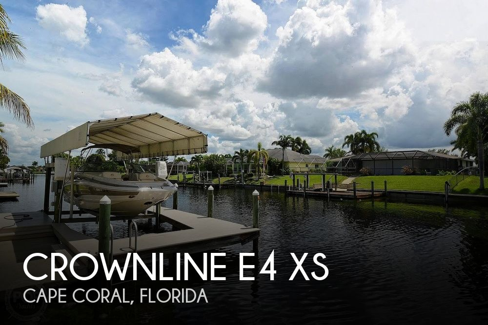 Used Deck Boats For Sale in Florida by owner | 2016 Crownline E4 XS