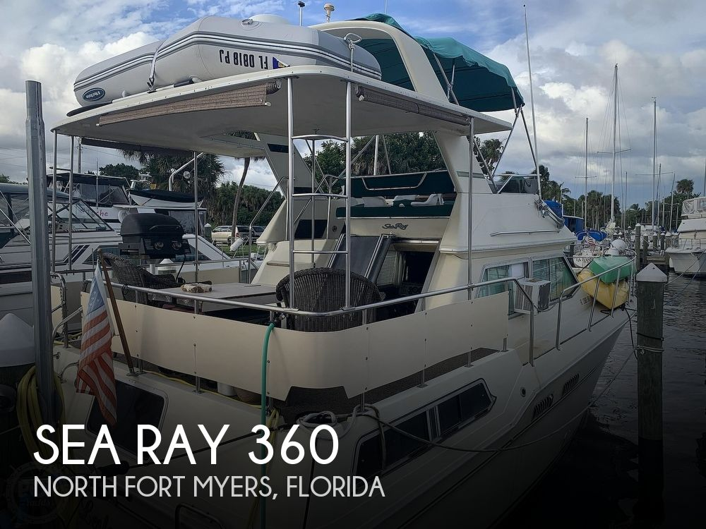 1983 Sea Ray boat for sale, model of the boat is 360 Aft Cabin & Image # 1 of 40