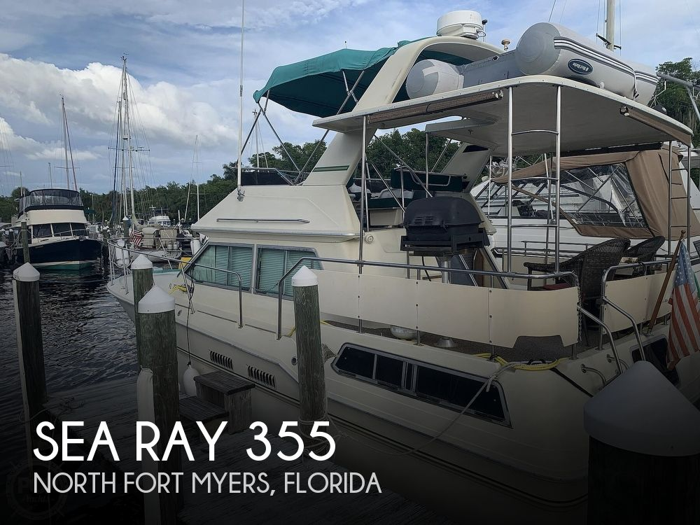 1983 Sea Ray boat for sale, model of the boat is 355 Aft Cabin & Image # 1 of 40
