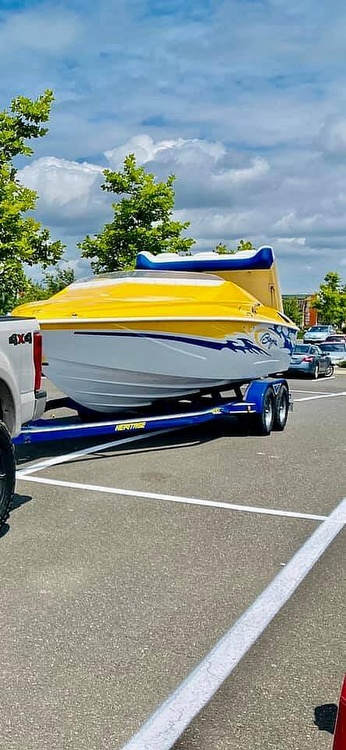 2005 Baja boat for sale, model of the boat is Outlaw & Image # 33 of 40
