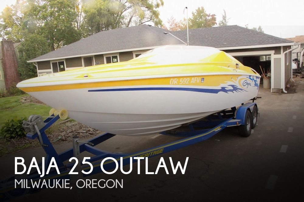 2005 Baja boat for sale, model of the boat is Outlaw & Image # 1 of 40