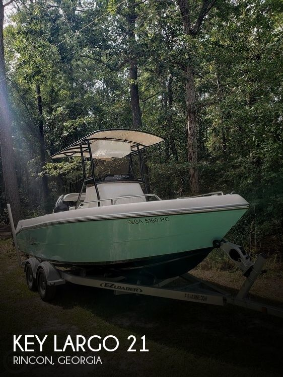 Used Key largo Boats For Sale by owner   2018 Key Largo 21