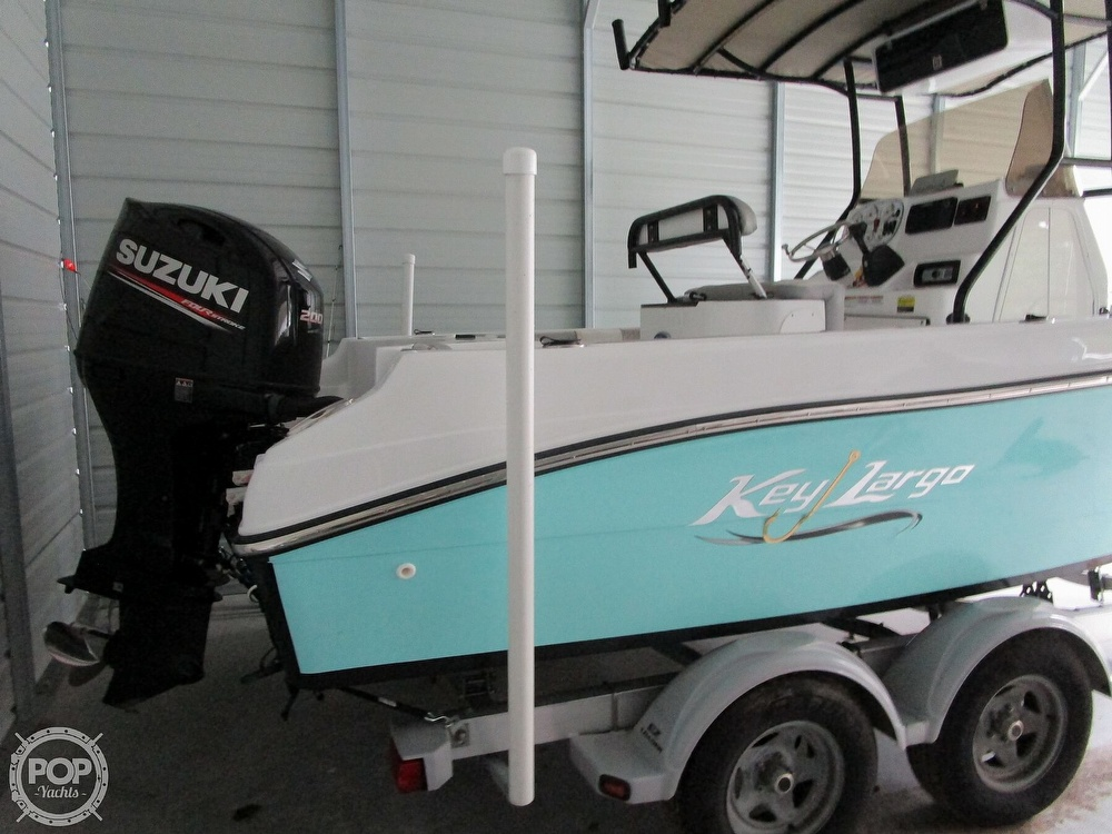 2018 Key Largo boat for sale, model of the boat is 210 & Image # 8 of 41