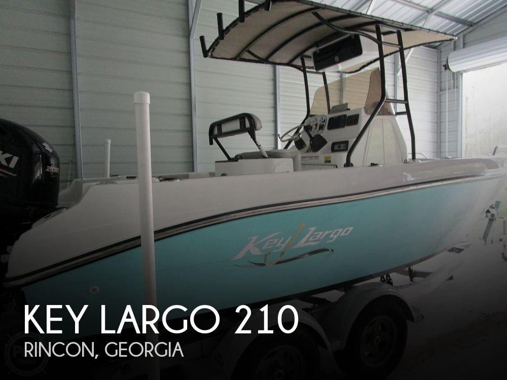 2018 Key Largo boat for sale, model of the boat is 210 & Image # 1 of 41