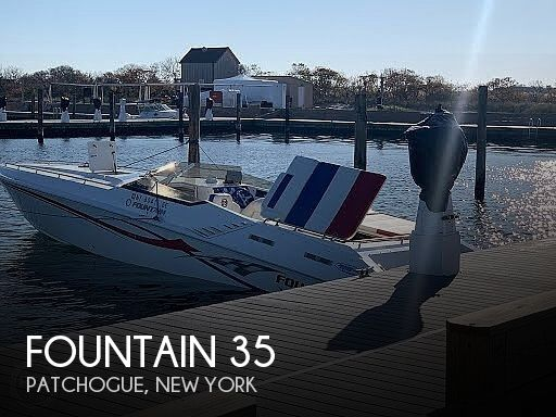 2005 Fountain boat for sale, model of the boat is 35 Executioner & Image # 1 of 40