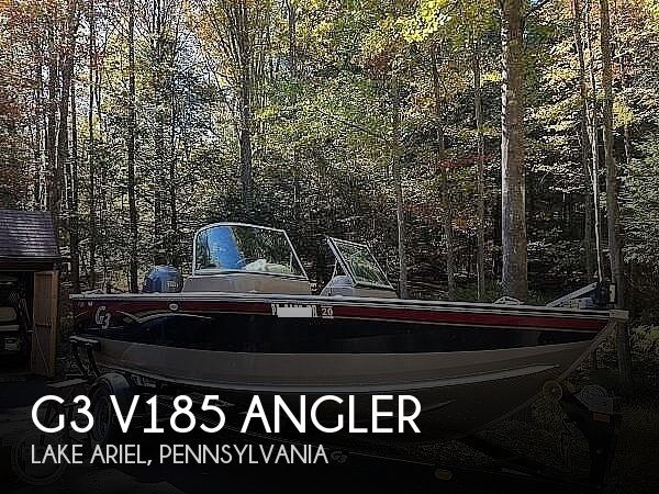 2010 G3 Boats boat for sale, model of the boat is V185 Angler & Image # 1 of 17