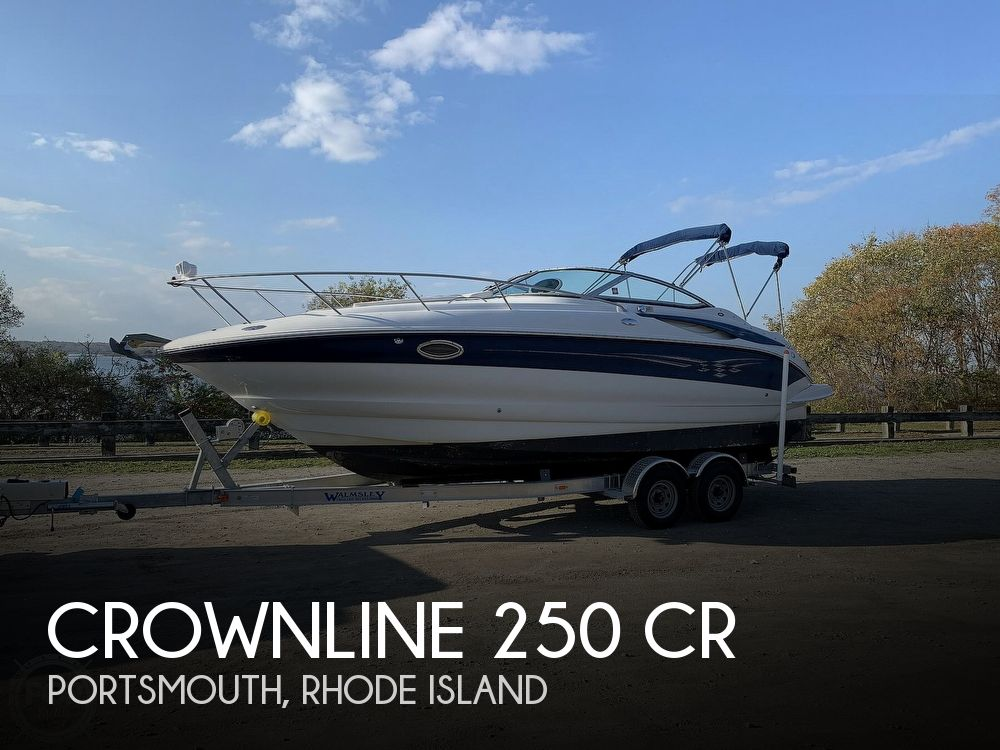 2004 Crownline boat for sale, model of the boat is 250 CR & Image # 1 of 40