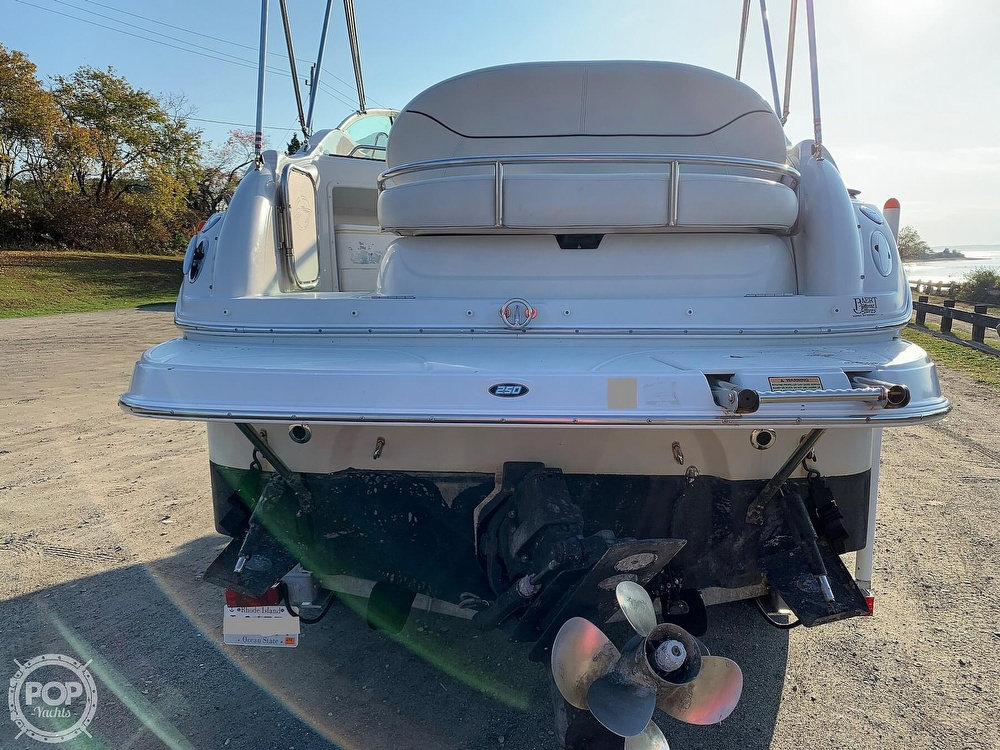2004 Crownline boat for sale, model of the boat is 250 CR & Image # 22 of 40