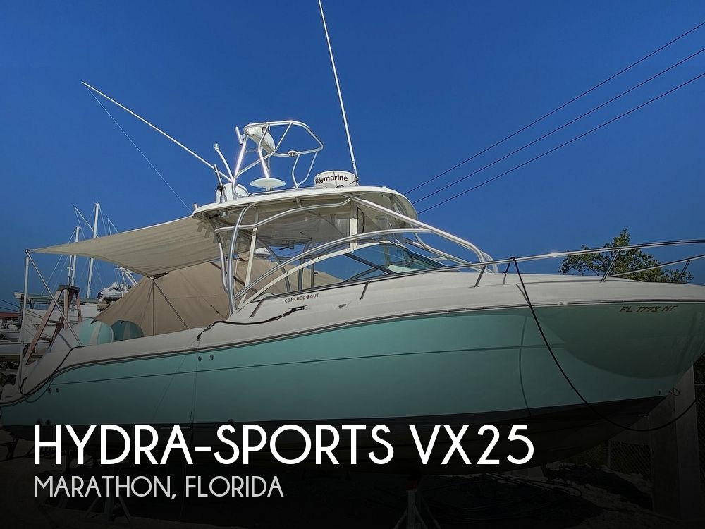 2005 Hydra-Sports boat for sale, model of the boat is vx25 & Image # 1 of 33
