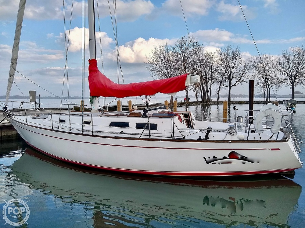 1980 CAL boat for sale, model of the boat is 39MKIII Tall Rig & Image # 16 of 40