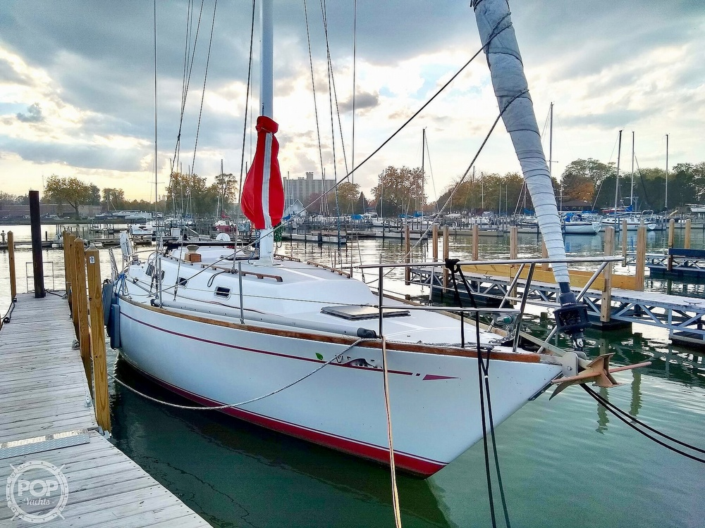 1980 CAL boat for sale, model of the boat is 39MKIII Tall Rig & Image # 12 of 40