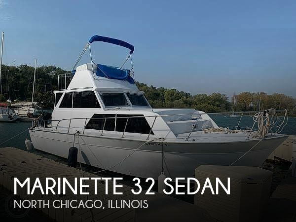 Used Marinette Boats For Sale by owner   1978 Marinette 32 Sedan