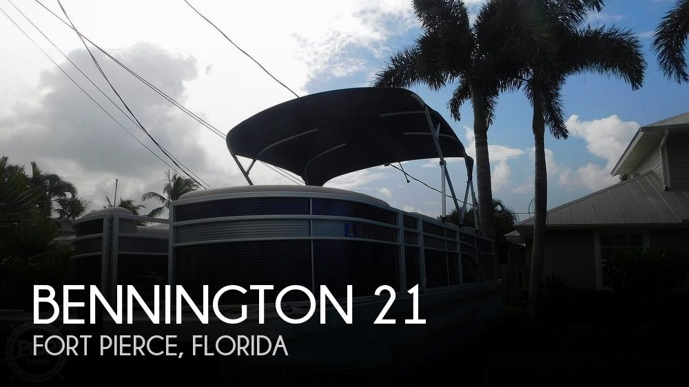 Used Bennington Boats For Sale in Florida by owner | 2019 Bennington SX 21 Saltwater