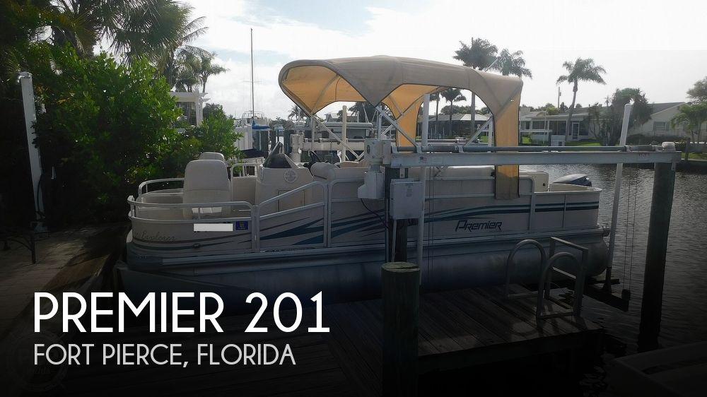 2009 PREMIER PONTOONS 201 EXPLORER for sale