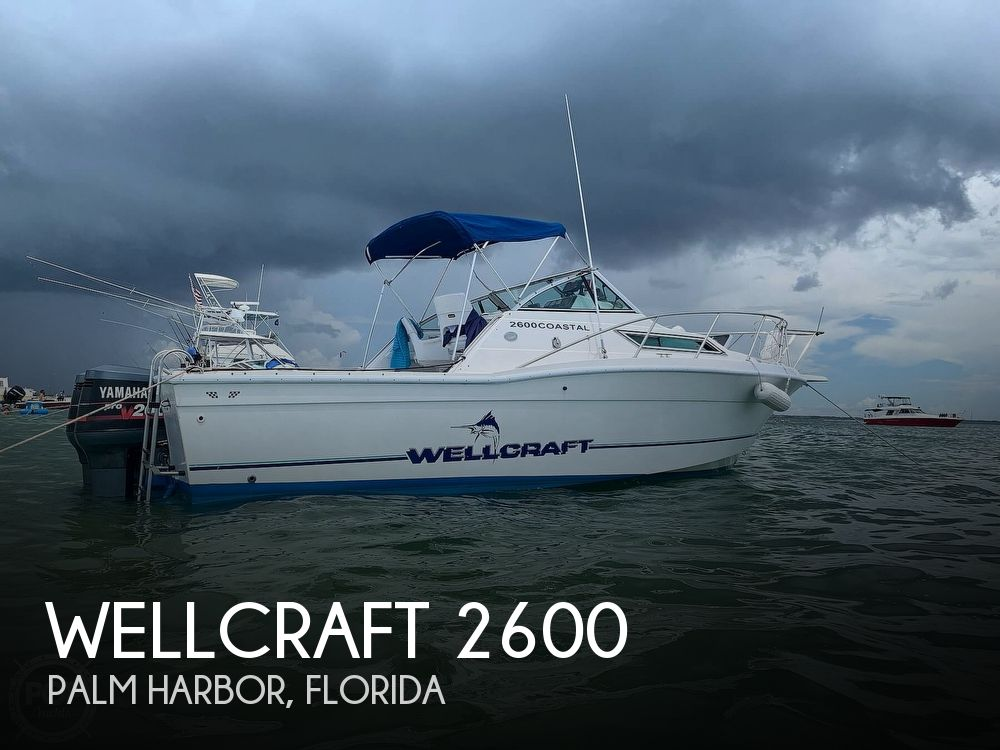 1995 Wellcraft boat for sale, model of the boat is 2600 Coastal & Image # 1 of 40