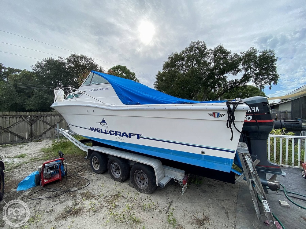 1995 Wellcraft boat for sale, model of the boat is 2600 Coastal & Image # 2 of 40