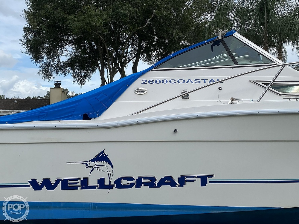 1995 Wellcraft boat for sale, model of the boat is 2600 Coastal & Image # 19 of 40