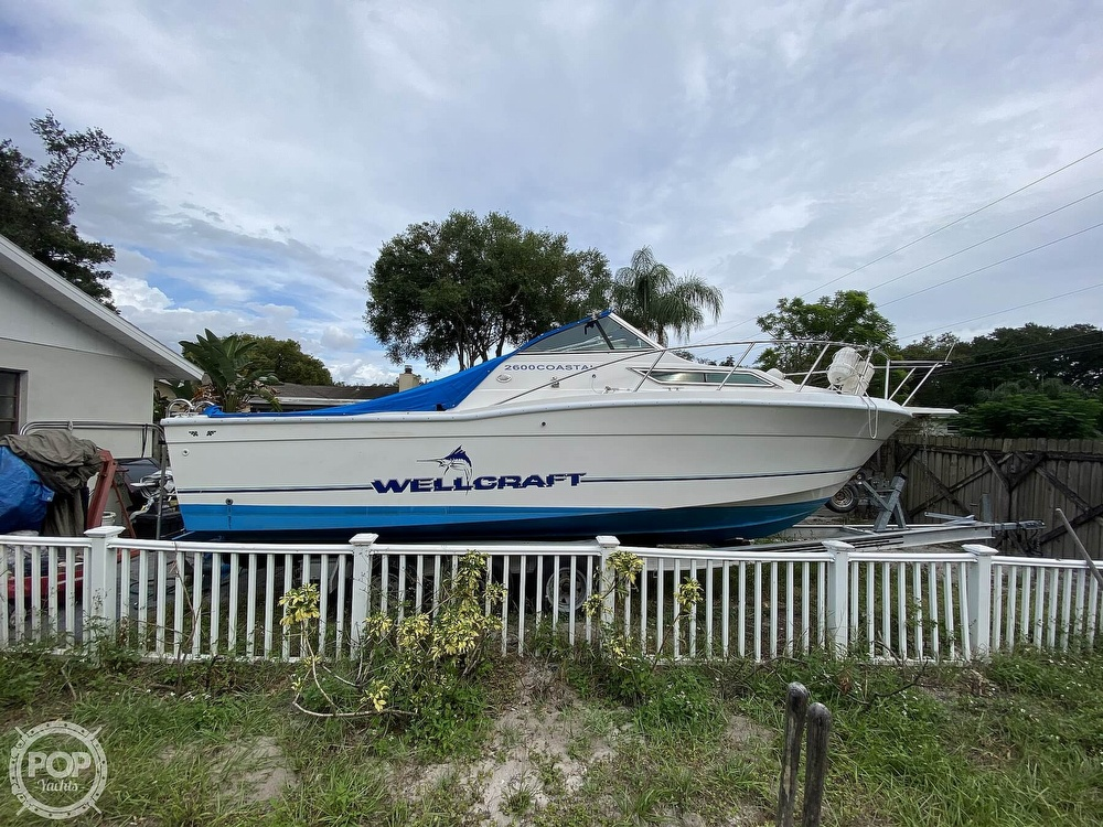 1995 Wellcraft boat for sale, model of the boat is 2600 Coastal & Image # 20 of 40