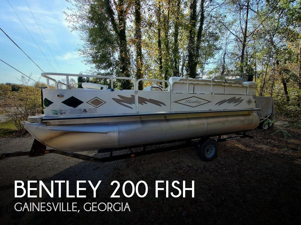 2004 Bentley boat for sale, model of the boat is 200 Fish & Image # 1 of 40